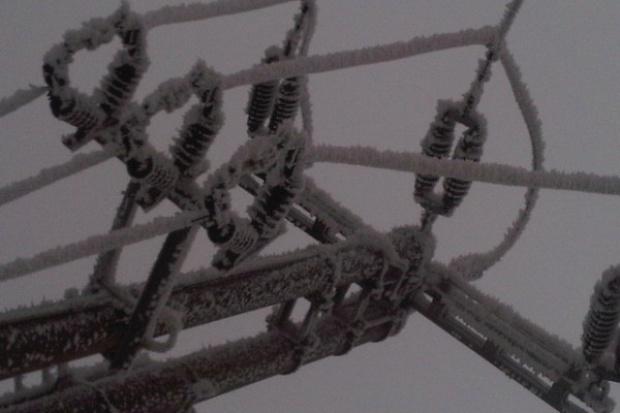 Zamiecie śnieżne; możliwe awarie linii energetycznych