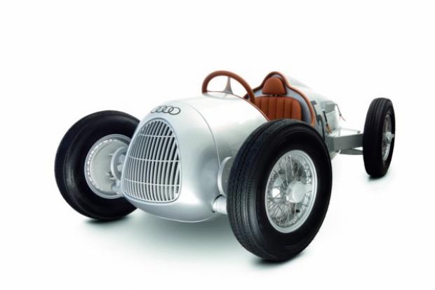 Audi na targach ..... zabawek