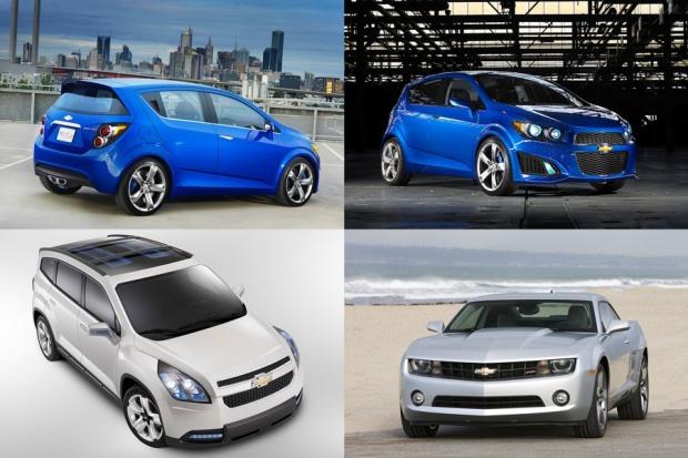 Nowości Chevroleta na urodziny firmy