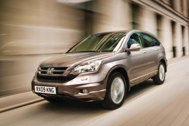 Honda odświeżyła model CR-V