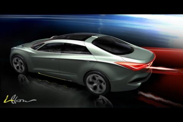 Hyundai i-flow pisany nowym językiem projektowania