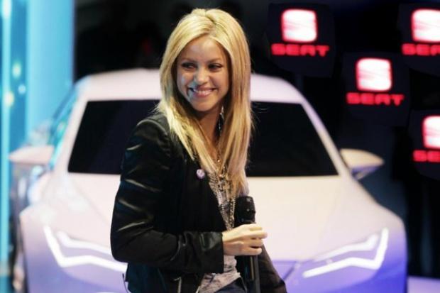 Shakira - atrakcją genewskiego stoiska Seata