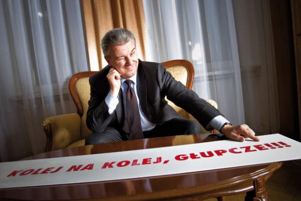 Grabarczyk zapowiada zmiany: Kolej na kolej