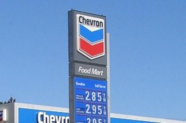 Chevron żegna Europę