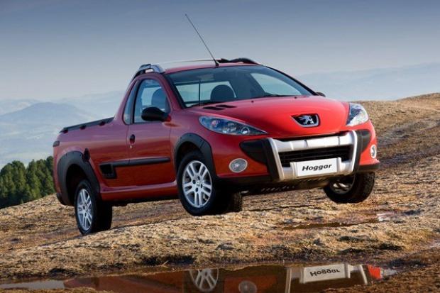 Brazylijski pickup Peugeota - Hoggar