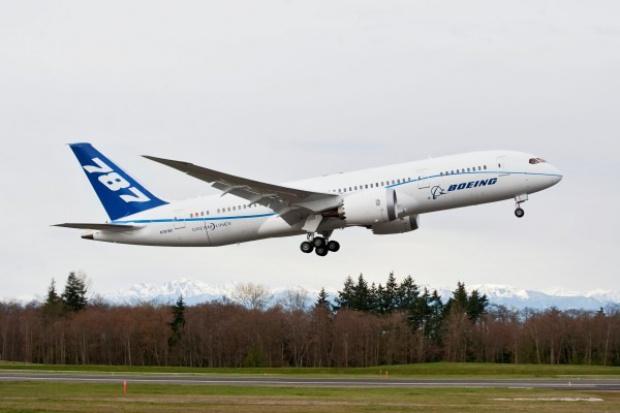 Czwarty Boeing 787 Dreamliner w powietrzu