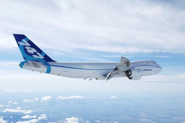Boeing 747-8 Freighter testuje swoją zdatność lotniczą