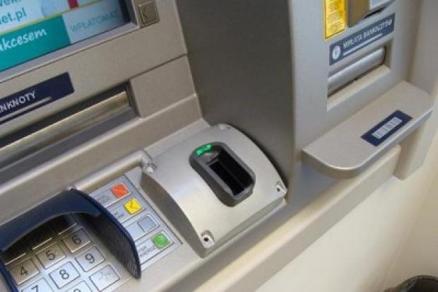 Pierwszy bankomat biometryczny w Polsce