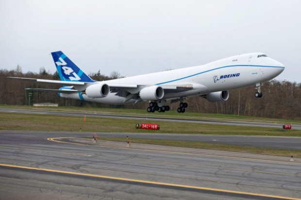 Drugi Boeing 747-8 Freighter odbył pierwszy lot