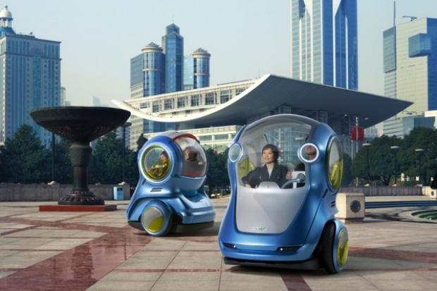 Mobilność przyszłości wg GM: koncept EN-V