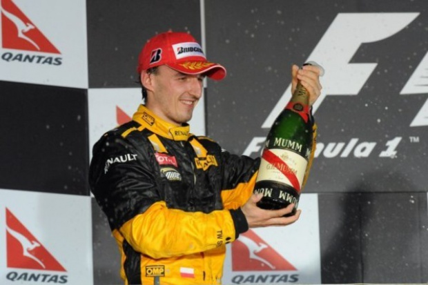 Formuła 1: Robert Kubica drugi w GP Australii