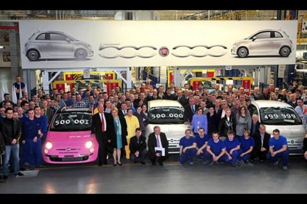 Pół miliona Fiatów 500 z Tychów