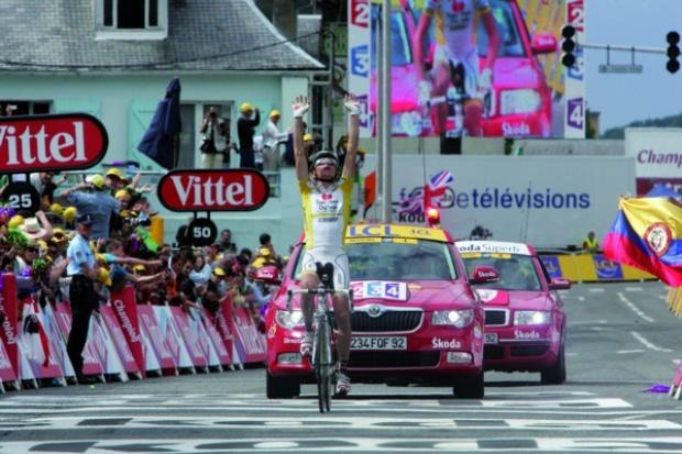 Skoda Auto pojedzie z Tour De France.