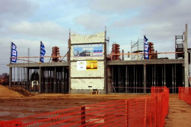 Ruszyła budowa nowej stacji DAF w Białymstoku