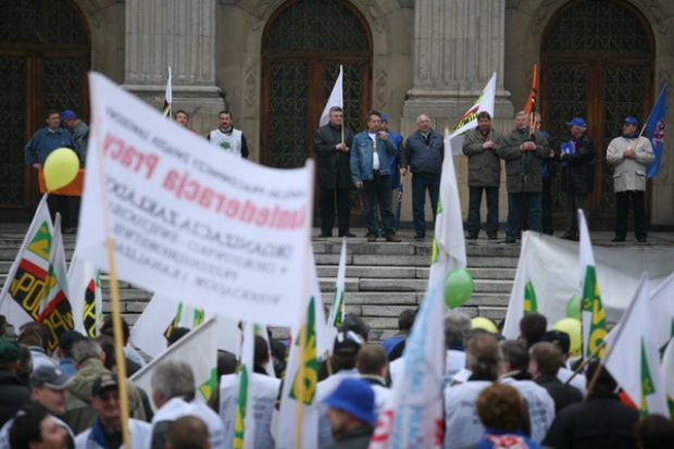 Górnicze związki zapowiadają manifestację w trakcie Europejskiego Kongresu Gospodarczego