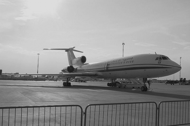 W Smoleńsku rozbił się Tu-154M