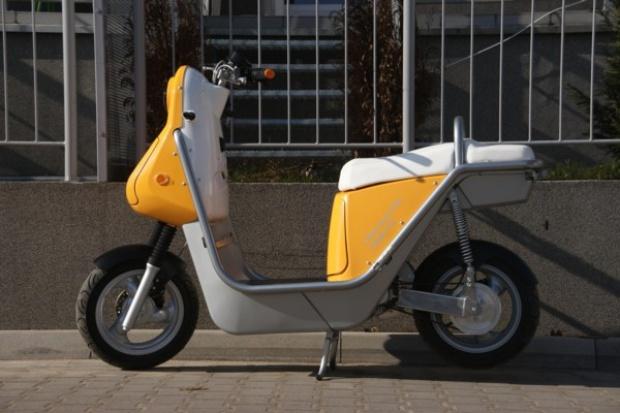 A może elektryczny skuter?