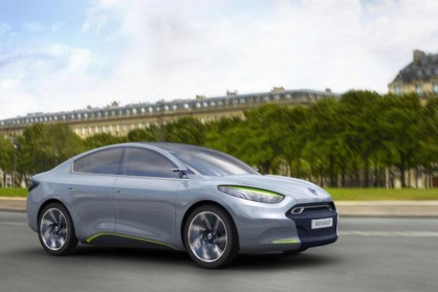 Jest produkcyjna wersja elektrycznego Renault Fluence Z.E.