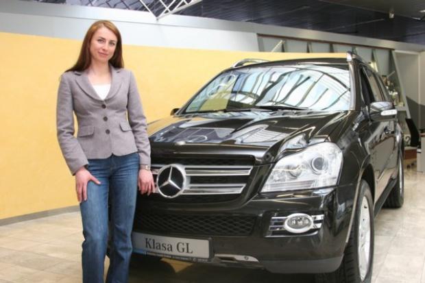 Justyna Kowalczyk w Mercedesie 4MATIC