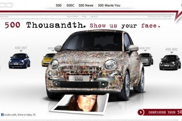 """Fiat """"500 Tysięczna"""" stworzony przez internautów"""