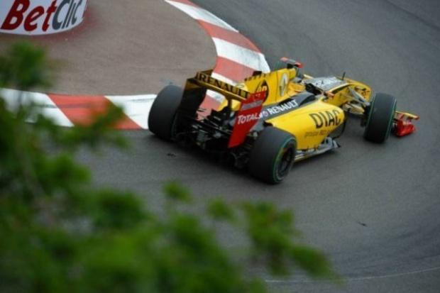 Kubica pokazał klasę podczas GP F1 Monako