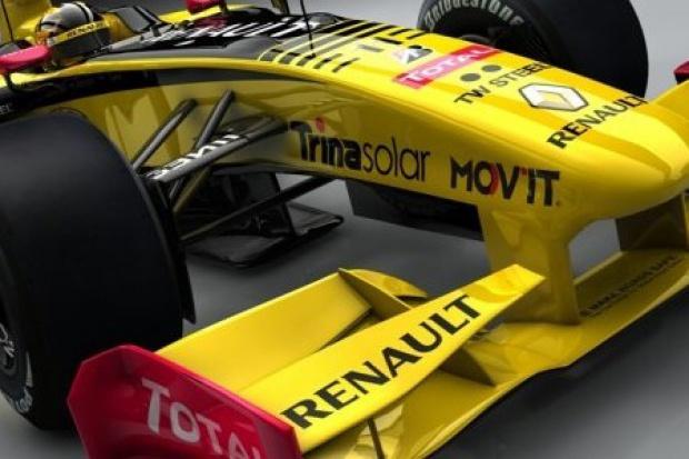 Ogniwa fotowoltaiczne sponsorują Renault F1 Team