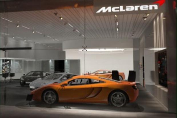 Z nowym McLarenem nowe salony
