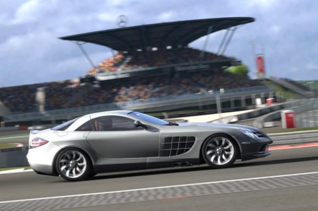Konsolowe jazdy próbne nowym Mercedesem