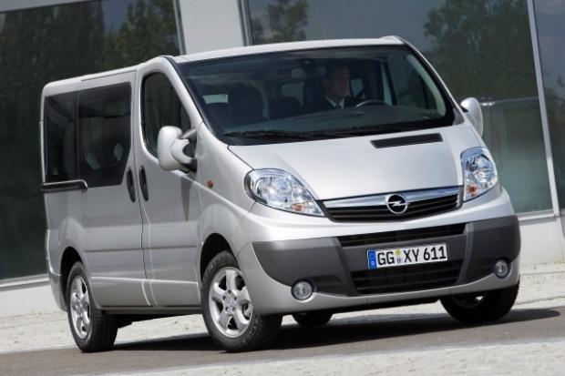 Opel odświeżył Vivaro