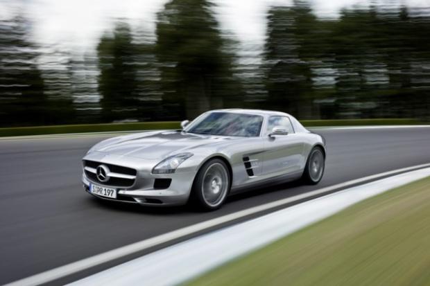 SLS AMG najpiękniejszym autem Europy