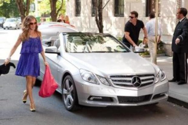 Seks w wielkim mieście.... w Mercedesie