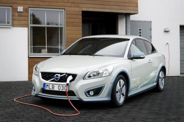 Elektryczne Volvo na ulicach Göteborga
