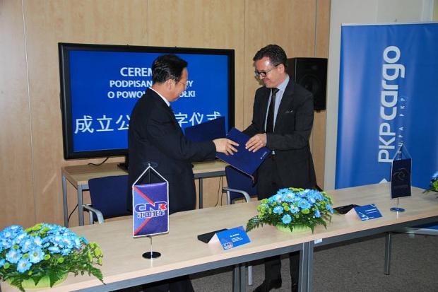 PKP Cargo ma spółkę z chińskim partnerem