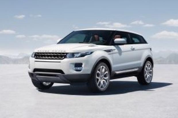 Najmniejszy Range Rover nazywa się Evogue