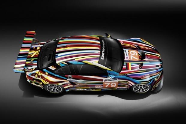 Artystyczne wcielenie BMW wg Jeffa Koonsa