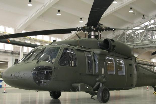 Pierwszy lot polskiego helikoptera Black Hawk
