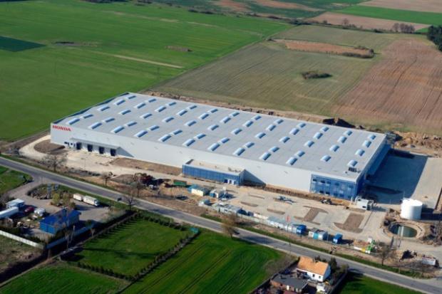 Honda uruchomiła centrum logistyczne w Pniewach