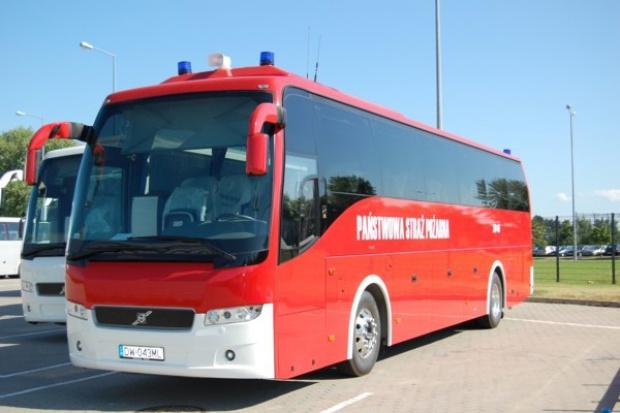 Turystyczny Volvo dla strażaków we Wrocławiu