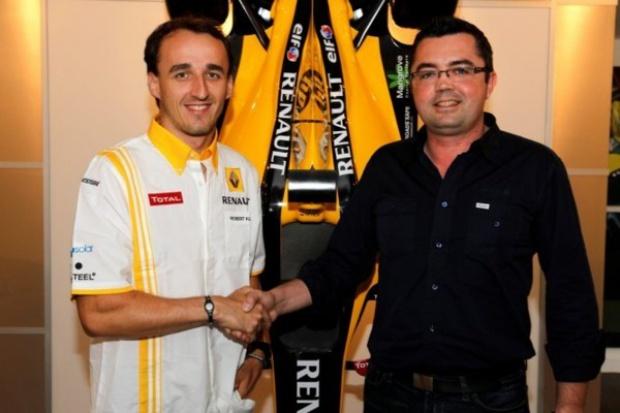 Kubica pozostanie w Renault do końca 2012 roku
