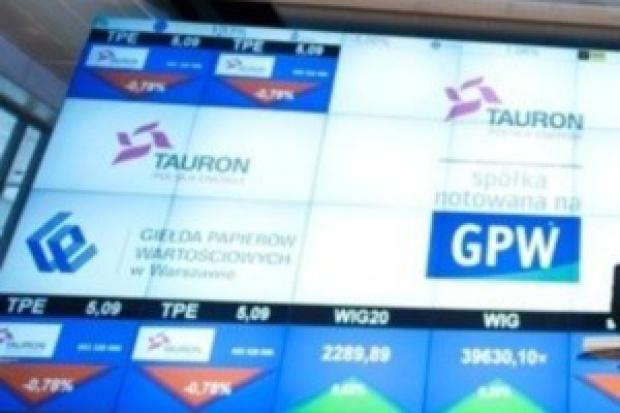 Akcje Tauronu już przynoszą zyski