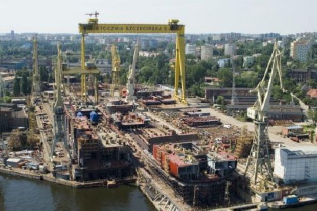 Sprzedano część majątku stoczni Szczecin