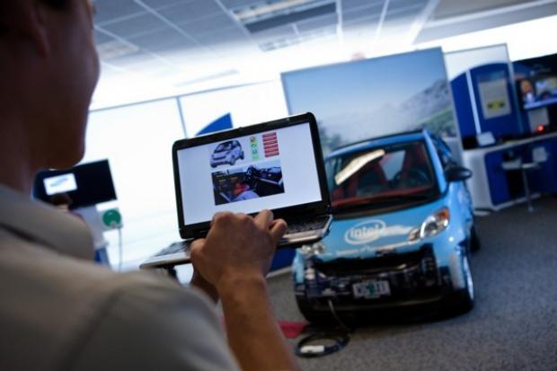 Intel przedstawia auto przyszłości