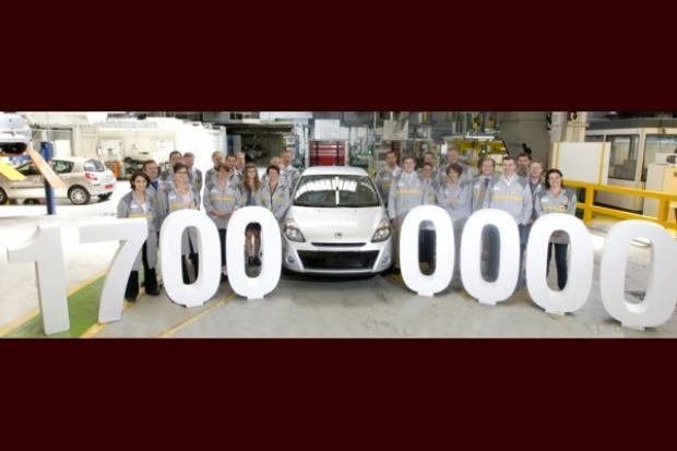 Fabryka Renault we Flins wyprodukowała auto nr 17 000 000