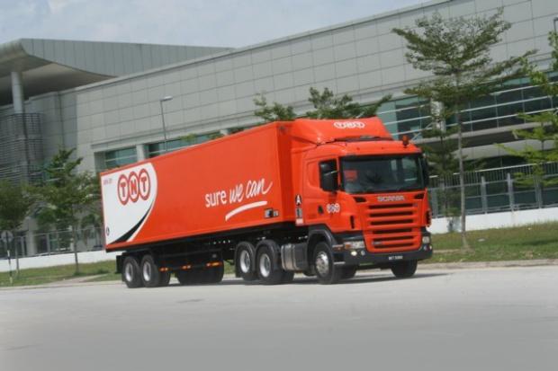 Scania dla TNT w Azji