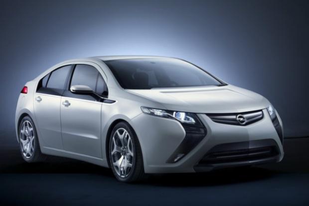 Elektryczny Opel Ampera: początek produkcji w 2011 r.