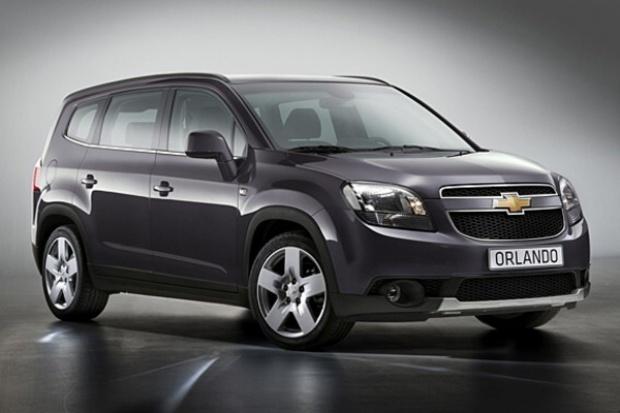Orlando: europejski van Chevroleta