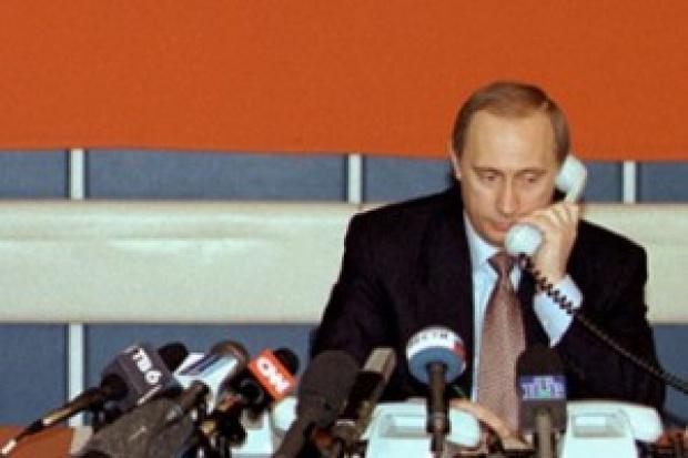 Putin wciąż nie ma telefonu komórkowego