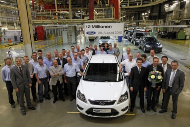 12 mln fordów z Saarlouis