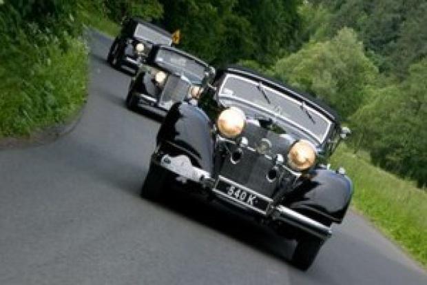 21 najciekawszych Mercedesów na rajdzie w Warszawie