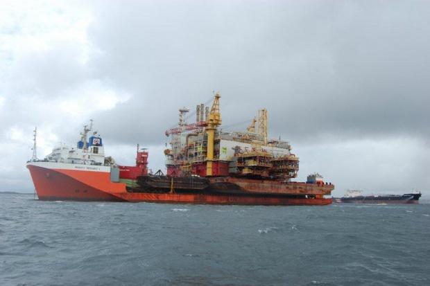 Platforma na Yme dotarła do Stavanger